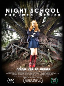 Night School Web Series Poster